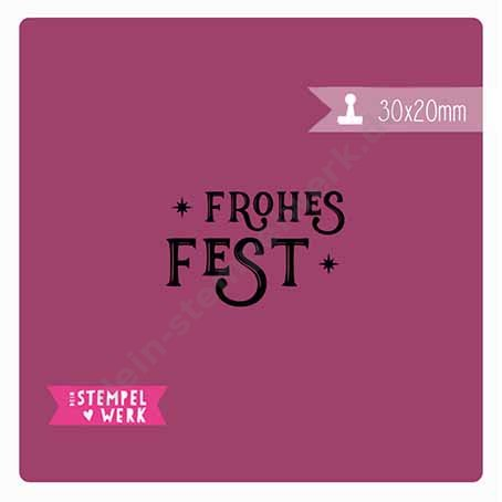 Frohes Fest Stern